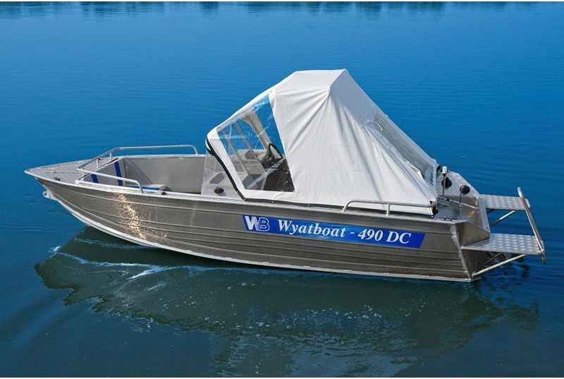 Катер Wyatboat-490DC