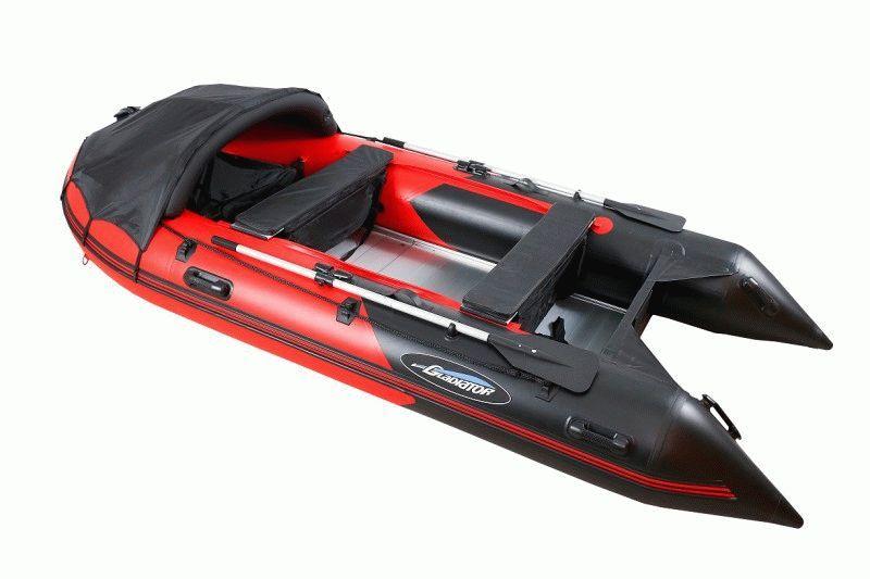 купить лодку надувную моторную gladiator-b270 air-deck