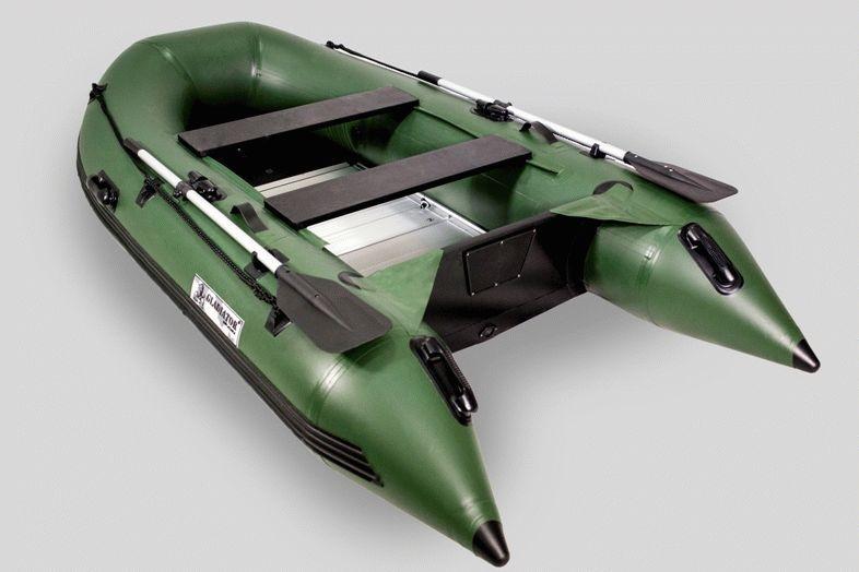 высота лодки гладиатор 330