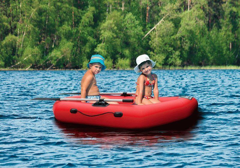 купить надувную лодку ребенку