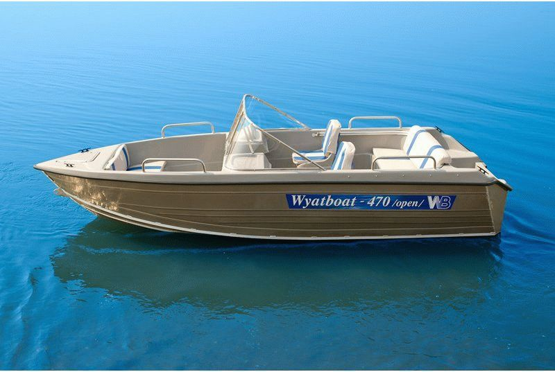 Катер Wyatboat-470 open